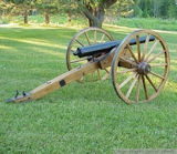 42in Wood Cannon Wheels