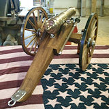 Close Up of Lees Cannon, 15 inch wheels