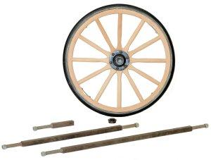 Wagon Wheels Axles