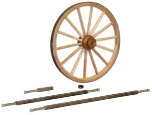 Cannon Wheels, Axles
