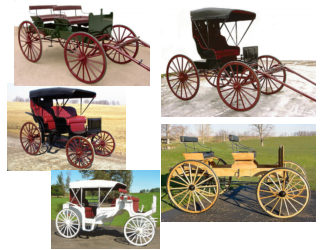 Wagons, Carriages, Buggys