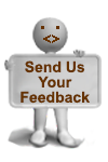 Please send us your Feedback