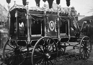 First Abraham Lincoln Hearse