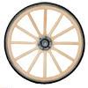 Sealed Bearing Carriage Wheel