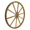 Decorative Wood Wagon Wheel
