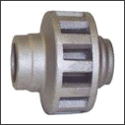 Aluminum Hub, Wood Wagon Wheel