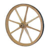 Small 12 inch Wood Wagon Wheel