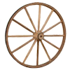 Wagon Wheels, Wooden Wagon Wheels